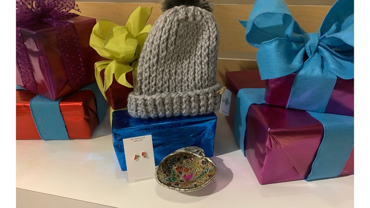 Locally made gift ideas.