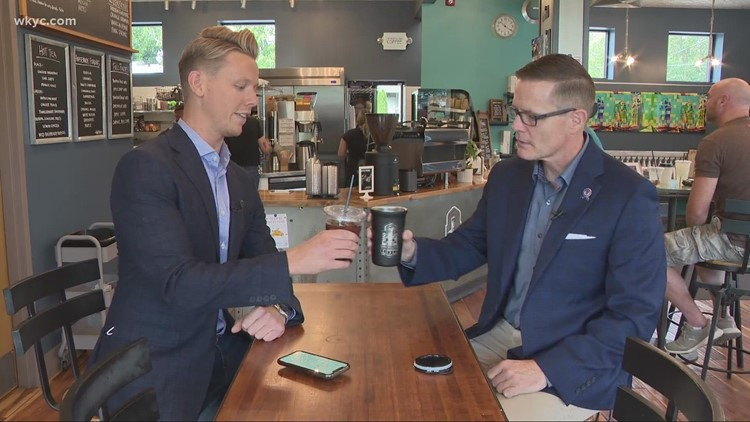 Leading the Land: 3News' Austin Love sits down for coffee with Cleveland mayoral candidate Kevin Kelley