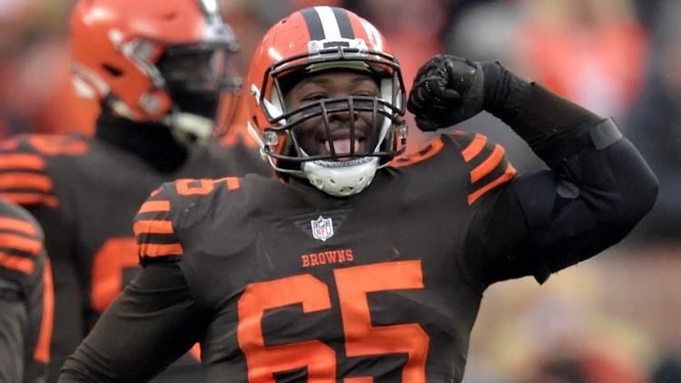 Larry Ogunjobi Cincinnati Bengals-Cleveland Browns Football