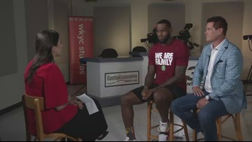 LeBron James: It's still 'surreal' to walk through I PROMISE School one year after opening