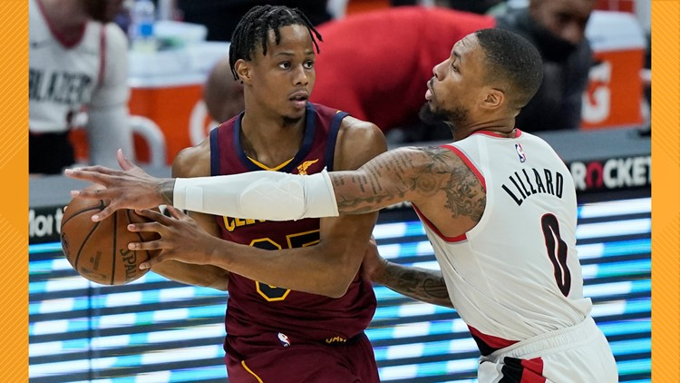Damian Lilliard scores 32, Portland Trail Blazers rout Cleveland Cavaliers 141-105