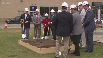 Canton breaks ground on Centennial Plaza