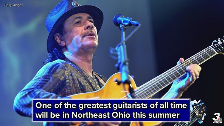 Santana bringing 'Supernatural Now' tour to Blossom this summer