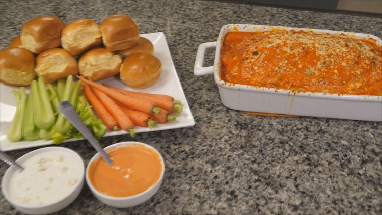 Comfort Food Friday: Buffalo chicken meatloaf recipe