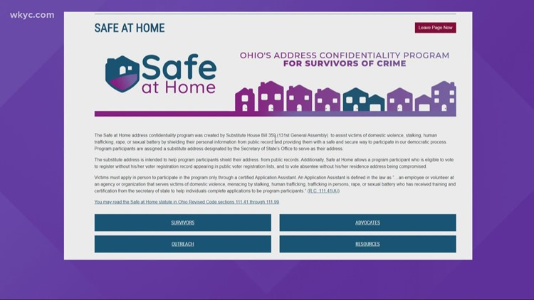 Safe At Home program for victims of domestic violence needs strengthening