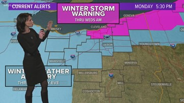 Wintry Blast headed for Northeast Ohio