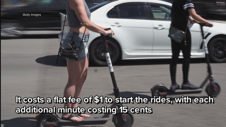 Bird Ride scooters make debut in Cleveland