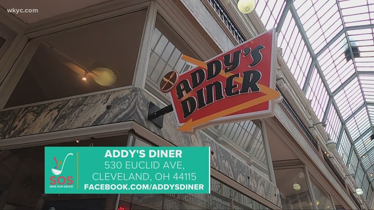 Addy's Diner in downtown Cleveland: 'Save our Sauce' campaign