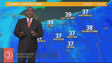Midday Weather Forecast for Northeast Ohio for Sunday October 13