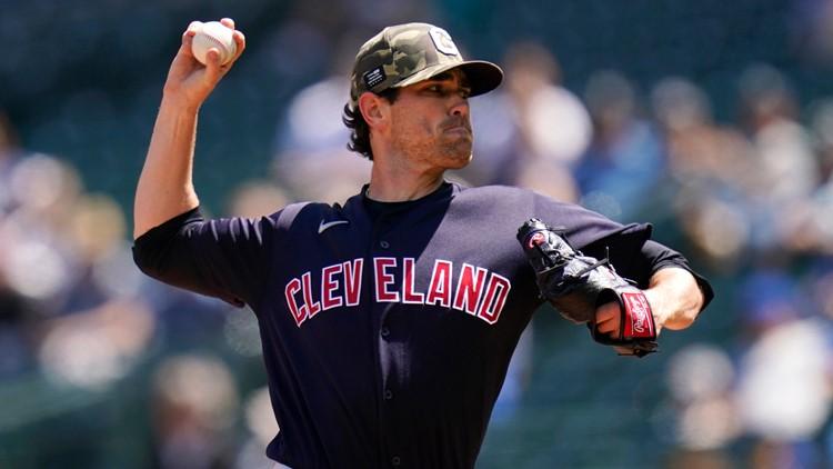 Cleveland Indians place Shane Bieber on injured list with shoulder strain