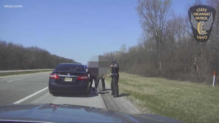 WATCH | Ohio state trooper rescues human trafficking victim