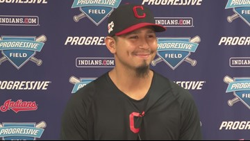 Cleveland Indians pitcher Carlos Carrasco gives update following leukemia diagnosis