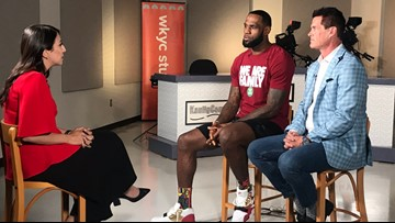 EXCLUSIVE | LeBron James sits down with WKYC's Amani Abraham to discuss I PROMISE School, setting an example for kids