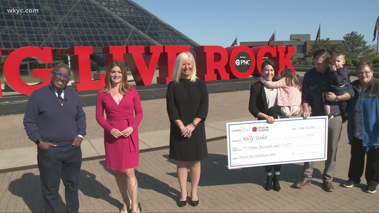 Al Roker helps 3News with emotional surprise as Cleveland Clinic Hillcrest nurse gets $15,000 check