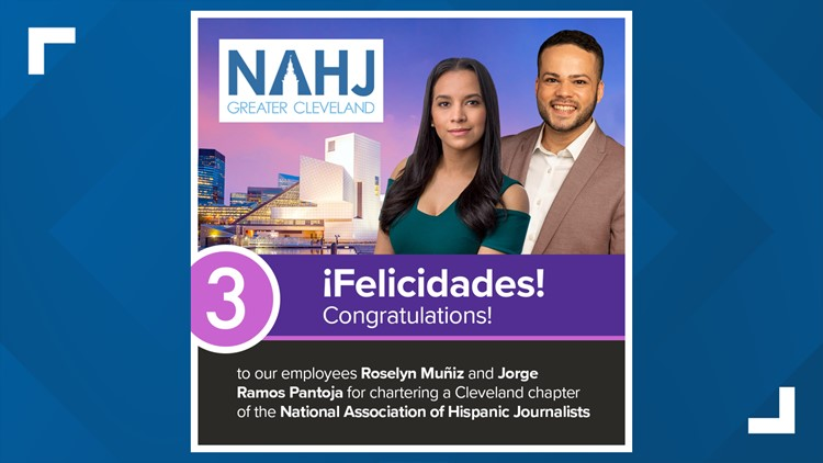 WKYC Studios employees charter new Greater Cleveland Association of Hispanic Journalists