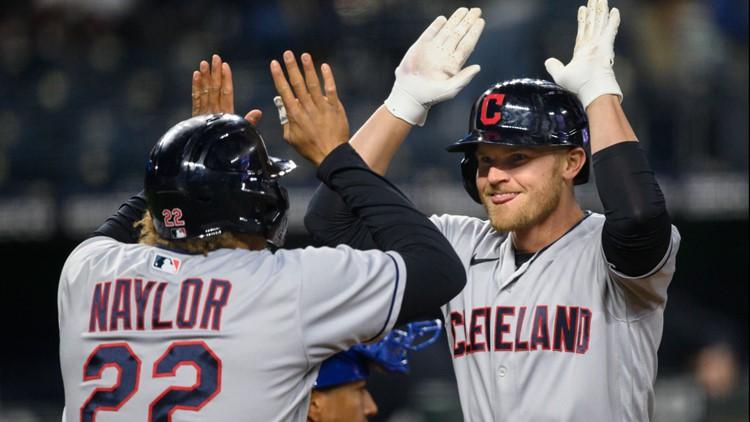 Harold Ramirez, Jake Bauers help Cleveland Indians rally for 7-3 win over Kansas City Royals
