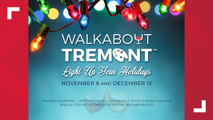 Walkabout Tremont on November 8 and December 13