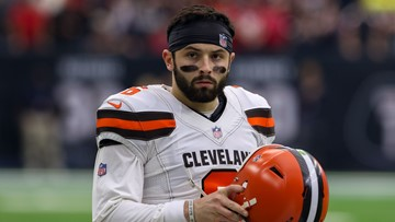 Cleveland Browns QB Baker Mayfield fined more than $10,000 for lewd sideline gesture