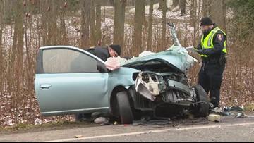 Cleveland man killed, 3 hurt in Streetsboro crash