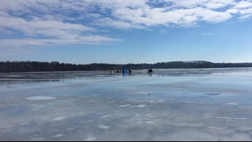 Ohio ice anglers dealing with Mother Nature's 'bipolar' vortex