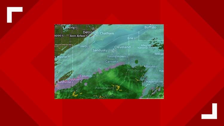5:02 p.m. radar winter storm January 19, 2019