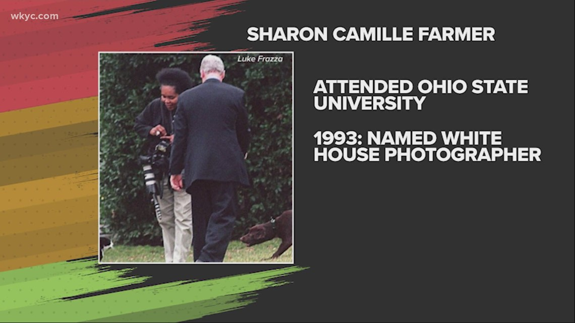 Sharon Camille Farmer, the first Black woman to become a White House photographer