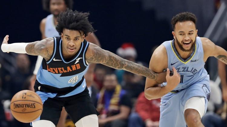 Grizzlies Cavaliers Basketball
