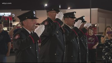 America and Northeast Ohio pauses to remember those who died on September 11, 2001