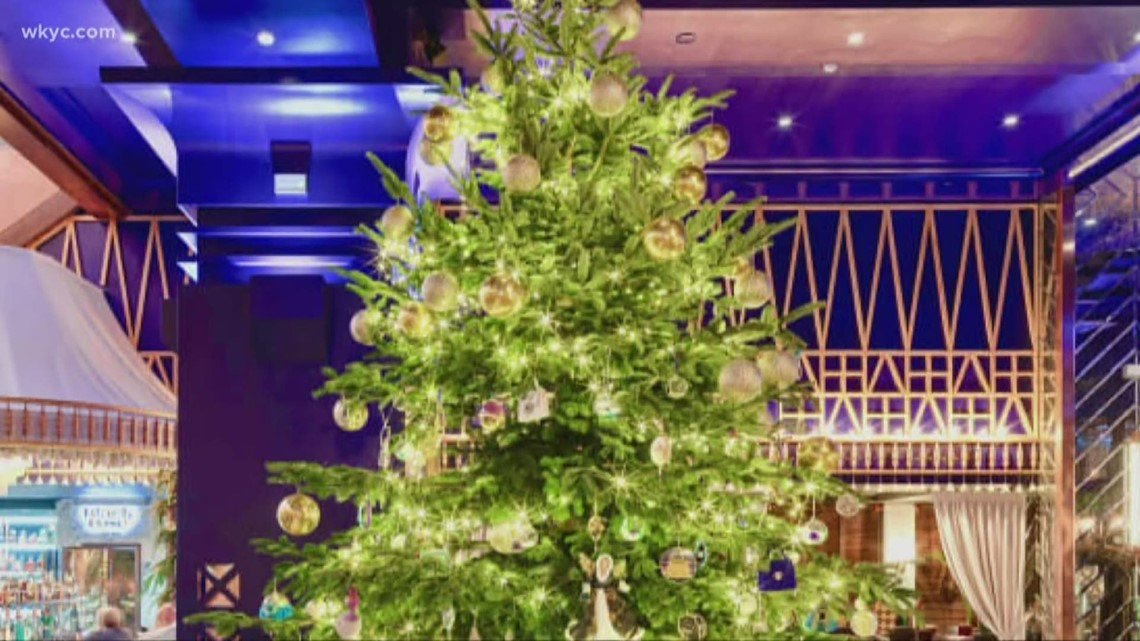 $15.5 million Christmas tree covered in diamonds and gold