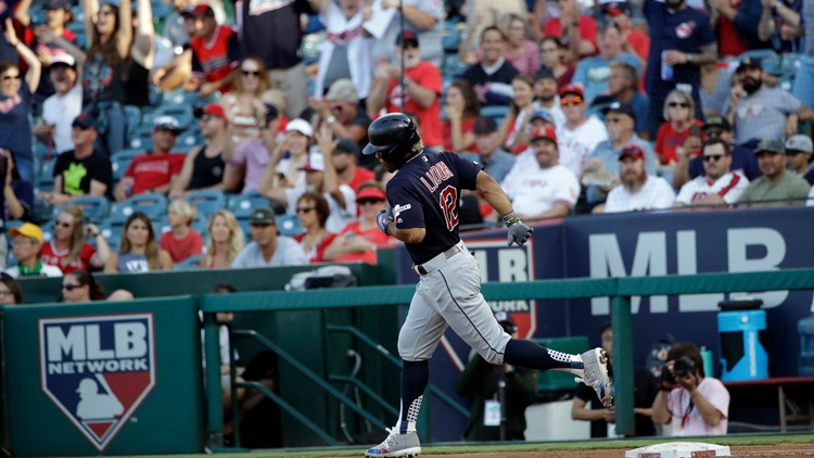 Cleveland Indians hold off Los Angeles Angels 4-3 to complete sweep