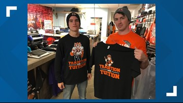 Massillon T-shirt shop takes aim at Akron Hoban before Ohio Division II high school football playoff rematch