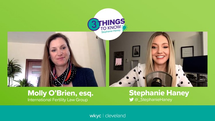 How much does egg freezing cost, insurance coverage and legal concerns, with fertility lawyer Molly O'Brien: 3 Things to Know with Stephanie Haney