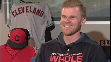 Cleveland Indians outfielder Jake Bauers reveals his dream super power: 'Beyond the Dugout'