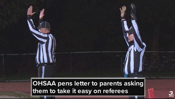'Dear Mom and Dad: Cool It!' OHSAA pens letter to parents asking them to take it easy on referees