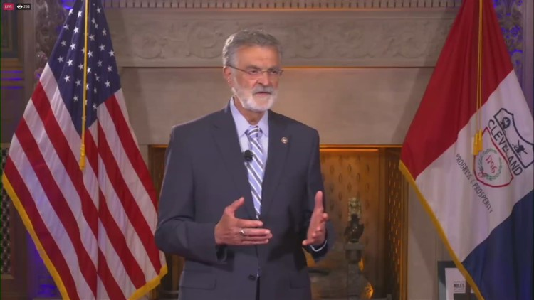 Cleveland Mayor Frank Jackson tells 3News' Russ Mitchell what's next in his life, offers advice to his successor and reveals what he'll miss most
