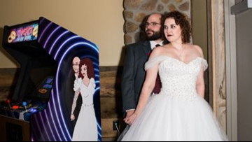 University of Akron alums create 'Til Death Do Us Part arcade game in time for wedding day