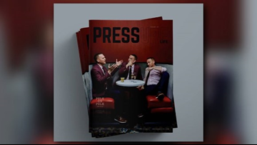 3News' Mike Polk Jr. featured in cover story in latest edition of Pressure Life Magazine