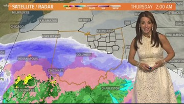 Winter Weather Advisory in effect for Northeast Ohio