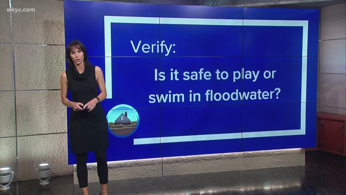 VERIFY: Is it safe to play or swim in flood waters?