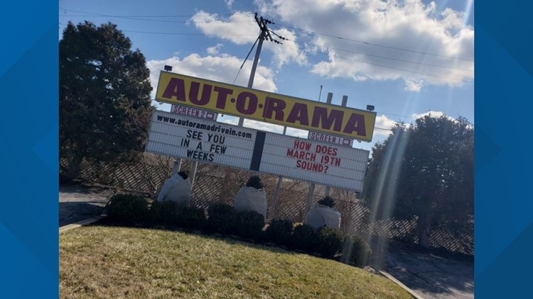 North Ridgeville's Aut-O-Rama Drive-In Theatre to reopen March 19