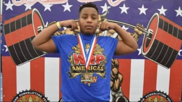 13-year-old Maple Heights boy bench presses 225 pounds, breaks record in World Raw Powerlifting Federation