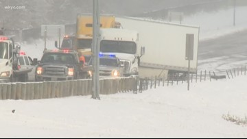 At least 50 cars involved in Mahoning county pileup