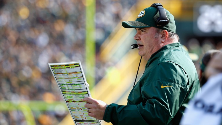 Former Green Bay Packers coach Mike McCarthy 4