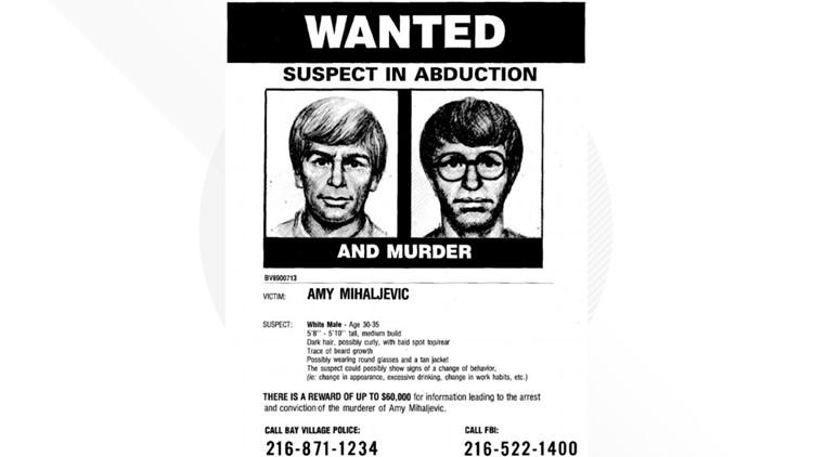 Amy Mihaljevic suspect sketch