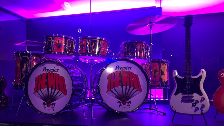 Play it Loud:  The Who drum kit and guitars