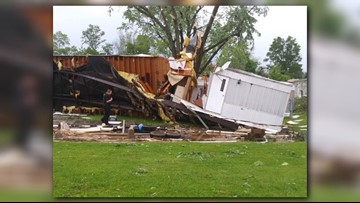National Weather Service confirms EF1 Tornado in Carrollton, OH