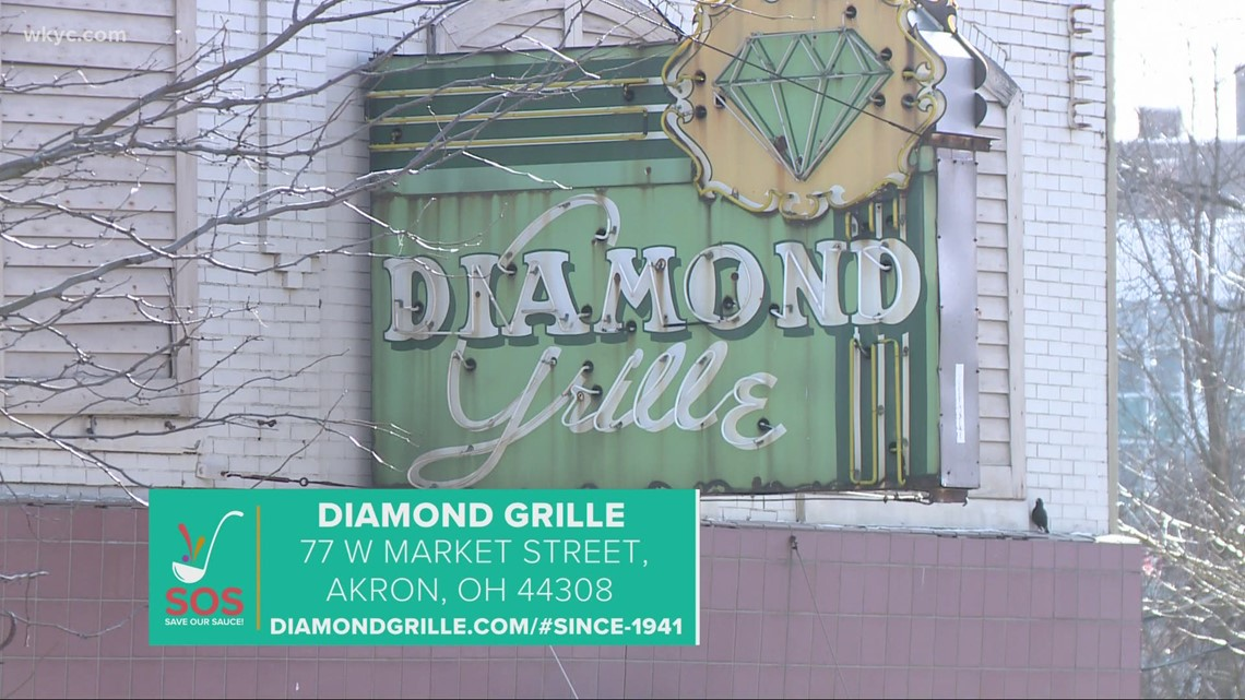 Diamond Grille restaurant in Akron: 'Save Our Sauce' campaign