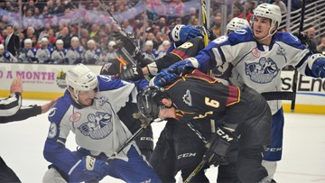Monsters fall to Crunch in Game 3 of first round of Calder Cup Playoffs