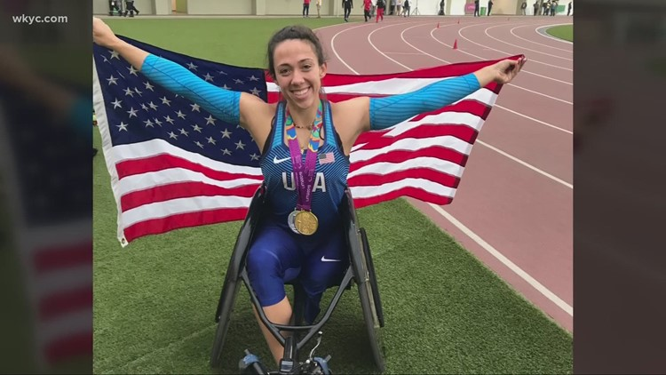 Heart of Gold: Ravenna native finds home on the track and her own path to athletic glory