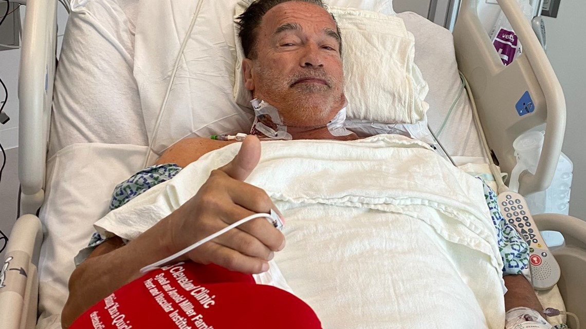 Arnold Schwarzenegger Has Heart Surgery At Cleveland Clinic Wkyc Com